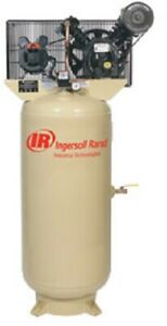 Ingersol Rand 5hp 230 1 2340l5 v Two Stage Cast Iron Air Compressor
