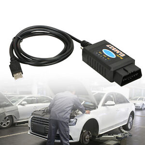 Elm327 Usb Interface Obdii Obd2 Diagnostic Auto Car Scanner Scan Tool Cable