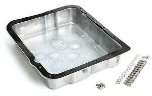 Trans Dapt 8897 Transmission Pan Stock Aluminum Polished Finned Gm Th400 Each