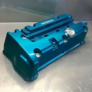 Honda Civic Accord Acura Rsx K20 K24 Jdm Candy Teal Valve Cover Powder Coated