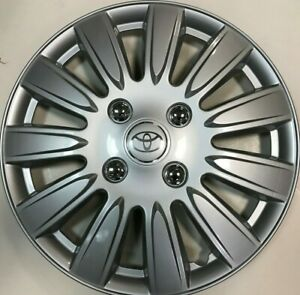 4 New Hubcap Fits Toyota Camry 15 Rim Wheel Cover 2000 2010 Avalon Corolla