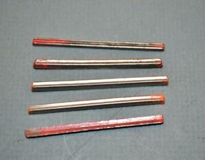 5 New Old Stock Unimat Lathe Edelstaal 2722 Hss Insert Cutters 4 2700 Tool Bit