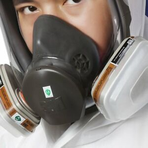 Original 3m 6800 Full Face Vapor Dust Mask Respirator 6800 Spray Paint Dl