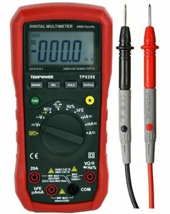 Tekpower Tp8268 Ac Dc Auto manual Range Digital Multimeter With Ncv Feature Mas