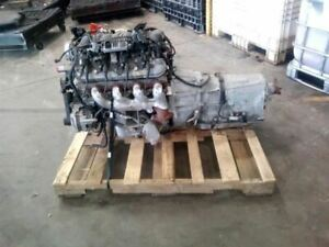 Engine Motor Assembly Lift Out With Transmission 2014 Caprice Sku 2430302