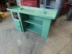 Myford Super 7 Ml7 Lathe Industrial Cabinet Stand Long Bed Suds Pump Vgc