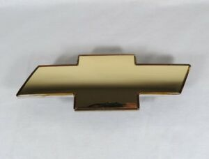 99 02 Chevy Silverado Grille Emblem New Front Grill Gold Badge Sign Symbol Logo
