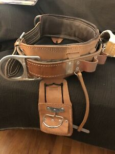 Bashlin Industries Lineman s Climbing Belt 2 D Rings Size D26