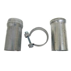 Summit Exhaust Ball Flange Stainless Steel Natural 2 50 In Dia Kit 672125ss