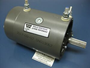 Warn 74756 26629 38894 Winch Replacement Electric Motor 12v 4 6hp M12000 M15000