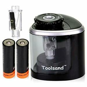 Electric Pencil Sharpener Battery powered Batteries High speed Automatic