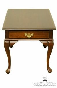 Cresent Furniture Solid Cherry Traditional Style 22x27 Accent End Table