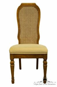 Bernhardt Furniture Italian Provincial Cane Back Dining Side Chair 251 521 522