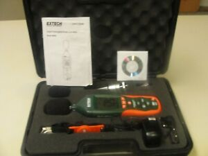 Extech Hd600 Digital Datalogging Sound Level Meter Used But Very Nice