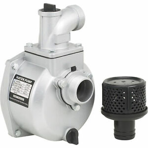 Semi trash Water Pump Only for Straight Keyed Shafts 2in Ports 7860 Gph 109271