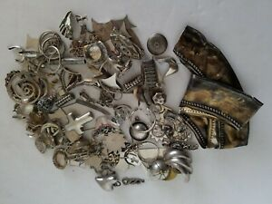 Solid 8 Ounces Sterling Silver 925 Clean Scrap Lot 227 1g