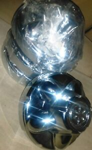 Set Of 4 Dicor Hubcap 5 Lug Rv Trailer 6 1 4 Wheel Center Cap tac545 Chrome