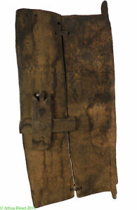 Bamana Door With Lock Wood Mali African Art
