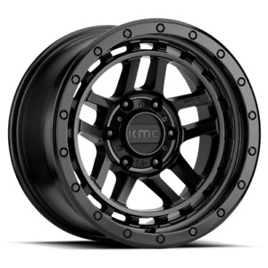 18 Inch Wheels Rims All Black Chevy Truck Tahoe C10 5 Lug Xd Series Xd140 Recon