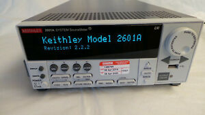 Keithley 2601a Source Meter factory Calibrated