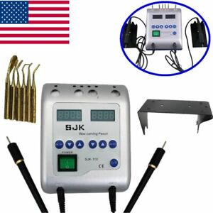 Dental Electric Wax Melting Waxer Carving Knife Machine Lab Wax Carving Pen