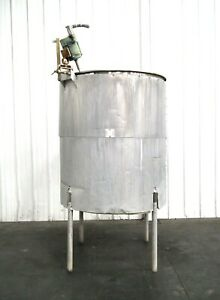 Mo 3009 Stainless Steel 565 Gallon Insulated Mixing Tank