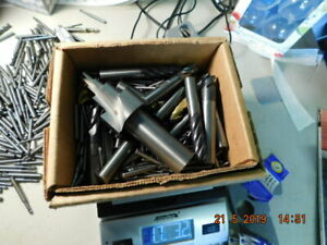 Scrap Carbide End Mills 17lbs Many Still Able To Use