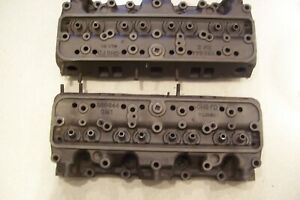 1949 Oldsmobile 303 V8 Matched Cylinder Heads 555644 Good Core Rebuilders