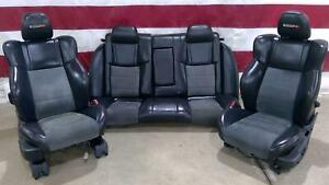 06 08 Dodge Charger Srt8 Seat Set front rear Power Heated Oem Used
