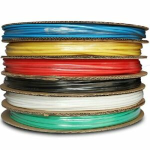 Heat Shrinkable Tubing 100 Meters Insulation Sleeving For Wire Connection Solder