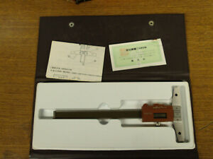 Mitutoyo Electronic Digital Depth Gage 0 To 6 Inch Model 571 111