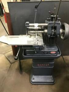 Barker Horizontal Milling Machine Tooling