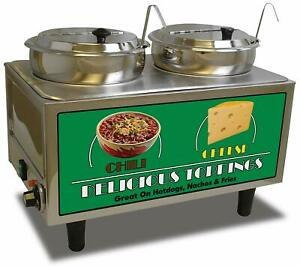 Benchmark 51072 Chili And Cheese Warmer 21 Length X 13 Width X 17 Height