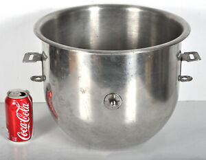 Vintage Stainless Steel Mixer Mixing Bowl 20 Quart For Hobart 14 Dia 12 Tall