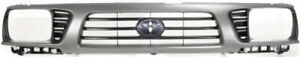 Cpp Gray Grill Assembly For 1995 1997 Toyota Tacoma Grille