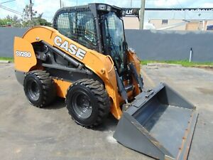 2018 Case Sv 280 2 Speed Turbo Fully Loaded Air Conditioned Comfort Cab Pkg