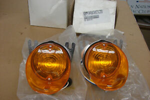 1970 El Camino Front Turn Signal And Parking Lamp Assembly 1 Pair