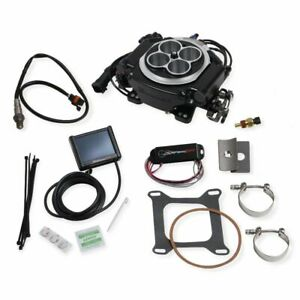 Holley Sniper 550 511k Tbi Efi Fuel Injection Self Tuning Master Kit Black
