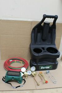 0386 1320 Victor Portable Tote Torch Kit Set Cutting Outfit Without Cylinders