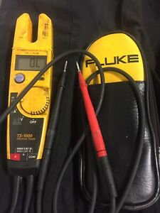 Fluke T5 1000 Electrical Meter With Case