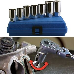 Assenmacher Specialty Tools 203 Stud Remover Installer Set 7 Piece New Free Ship