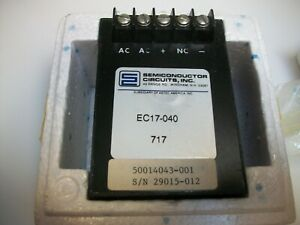 Semiconductor Circuits Ec17 040 Ac dc Regulated Power Supply New