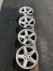 Authentic Ronal Ac Schnitzer 18 Staggered Wheels Rims Bmw Set 4 5x120 Germany