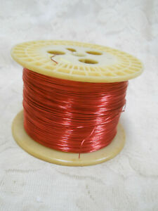 Essex Copper Magnet Wire winding Wire 20 Awg Gauge 7 6 Pounds Gross