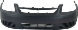 Primed Front Bumper Cover Replacement For 2005 2010 Chevrolet Cobalt