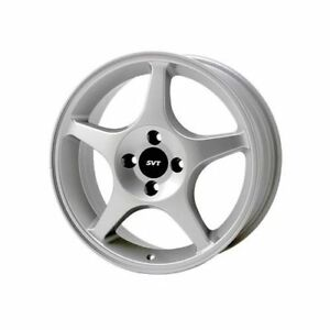 Ford Racing Silver Svt Focus Wheel 17 X7 4x4 25 Bc Set Of 2