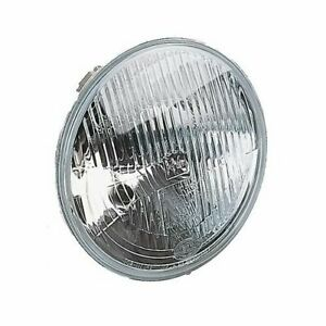 Two 2 Hella Headlight Conversion Vision Plus Housing Clear Lens 7 Round