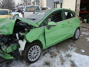 2011 16 Ford Fiesta Drivers Side Left Front Door Assembly Green Code Hd
