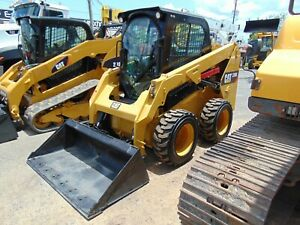 2015 Cat 236d big 74 Hp Turbo Enclosed A c Cab Pilot Controls