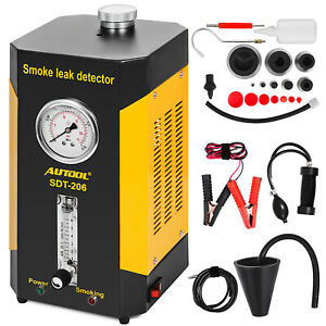 Sdt 206 Smoke Leakage Leak Diagnostic Detector For Car Cooling Tank Fuel Pipe